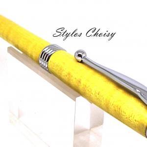 Bille sagesse erable onde stab jaune et chrome 3