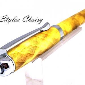Bille tentation fourche de peuplier ecostabilise jaune et chrome 4