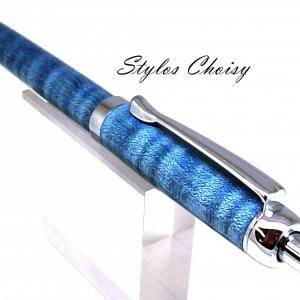 Bille tentation sycomore onde ecostabilise bleu et chrome 3