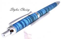 Bille tentation sycomore onde ecostabilise bleu et chrome 4