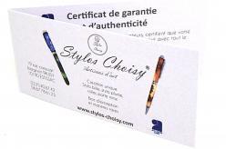 Certificat de garantie 5