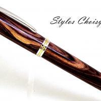 Confidence senior palissandre bois de violette platine et or 22 carats 1