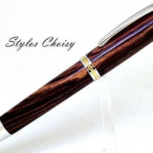 Confidence senior palissandre bois de violette platine et or 22 carats 2
