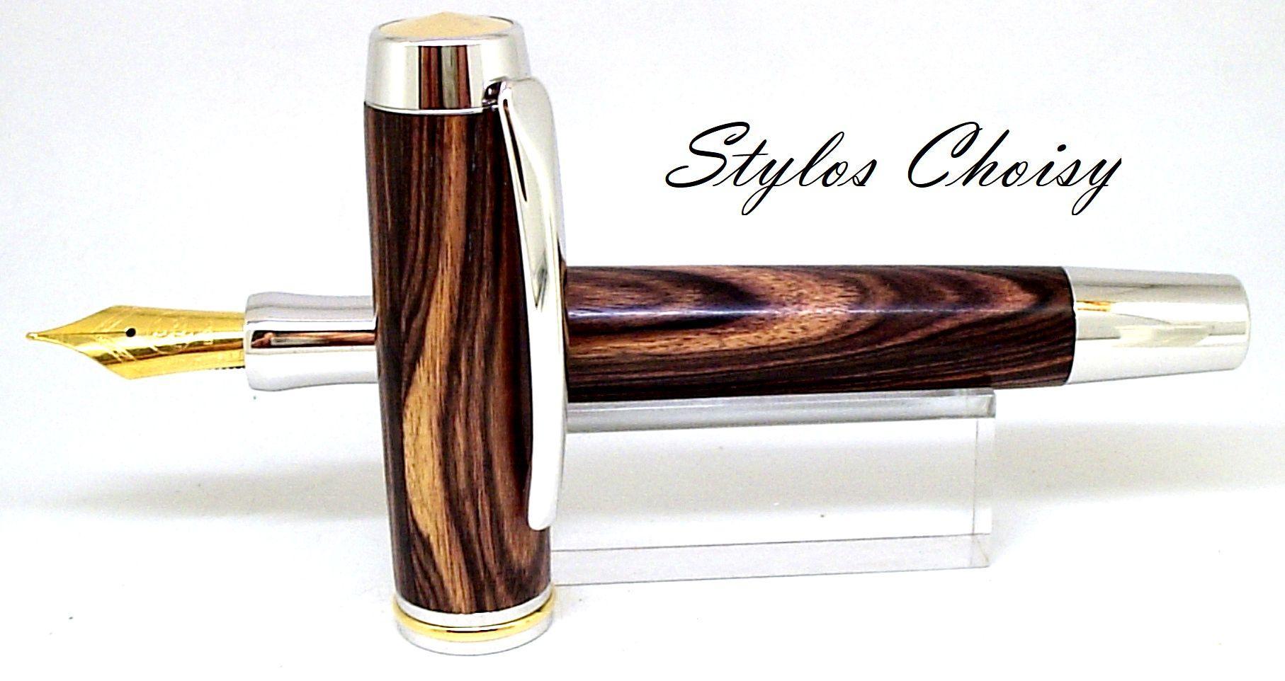 Confidence senior palissandre bois de violette platine et or 22 carats 5