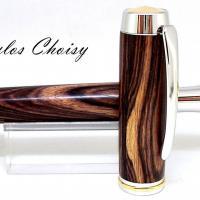 Confidence senior palissandre bois de violette platine et or 22 carats 6