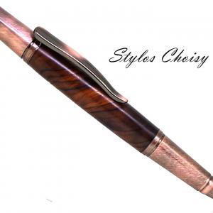 Evasion palissandre cocobolo et chrome cuivre brosse 1