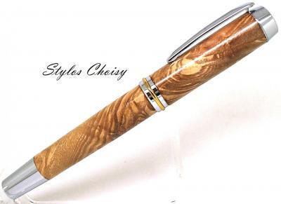 Stylo plume Découverte Senior en loupe de frêne