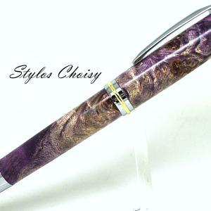 Plume decouverte senior loupe de peuplier ecostbilise violet 2