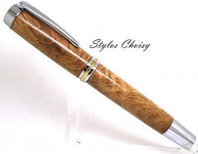 Stylo plume Découverte Senior en ronce de chêne