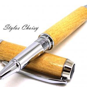 Roller decouverte acacia et chrome 4