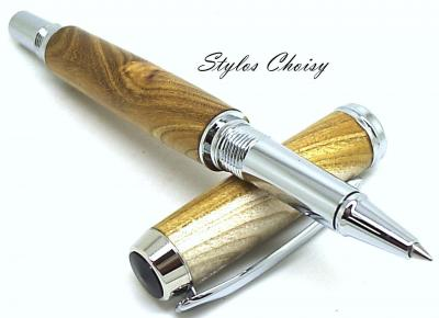 Roller Découverte en bois de Judée et chrome