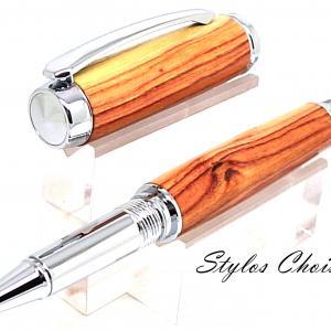 Roller decouverte bois de rose et chrome 7