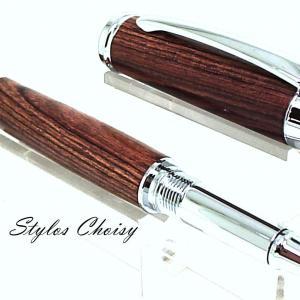 Roller decouverte bois de violette et chrome 3