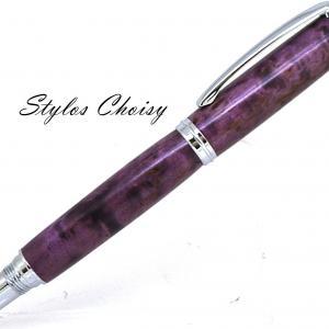 Roller decouverte bouleau gele ecostabilise violet et chrome 2