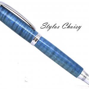 Roller decouverte erable sycomore onde ecostabilise bleu et chrome 1