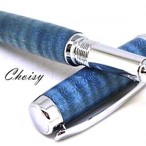 Roller decouverte erable sycomore onde ecostabilise bleu et chrome 4