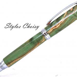 Roller decouverte loupe de freneecostabilise verte et chrome 2