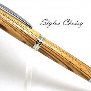 Roller decouverte senior chene zebrano chrome et or 24k 1
