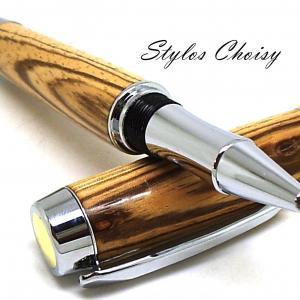 Roller decouverte senior chene zebrano chrome et or 24k 4