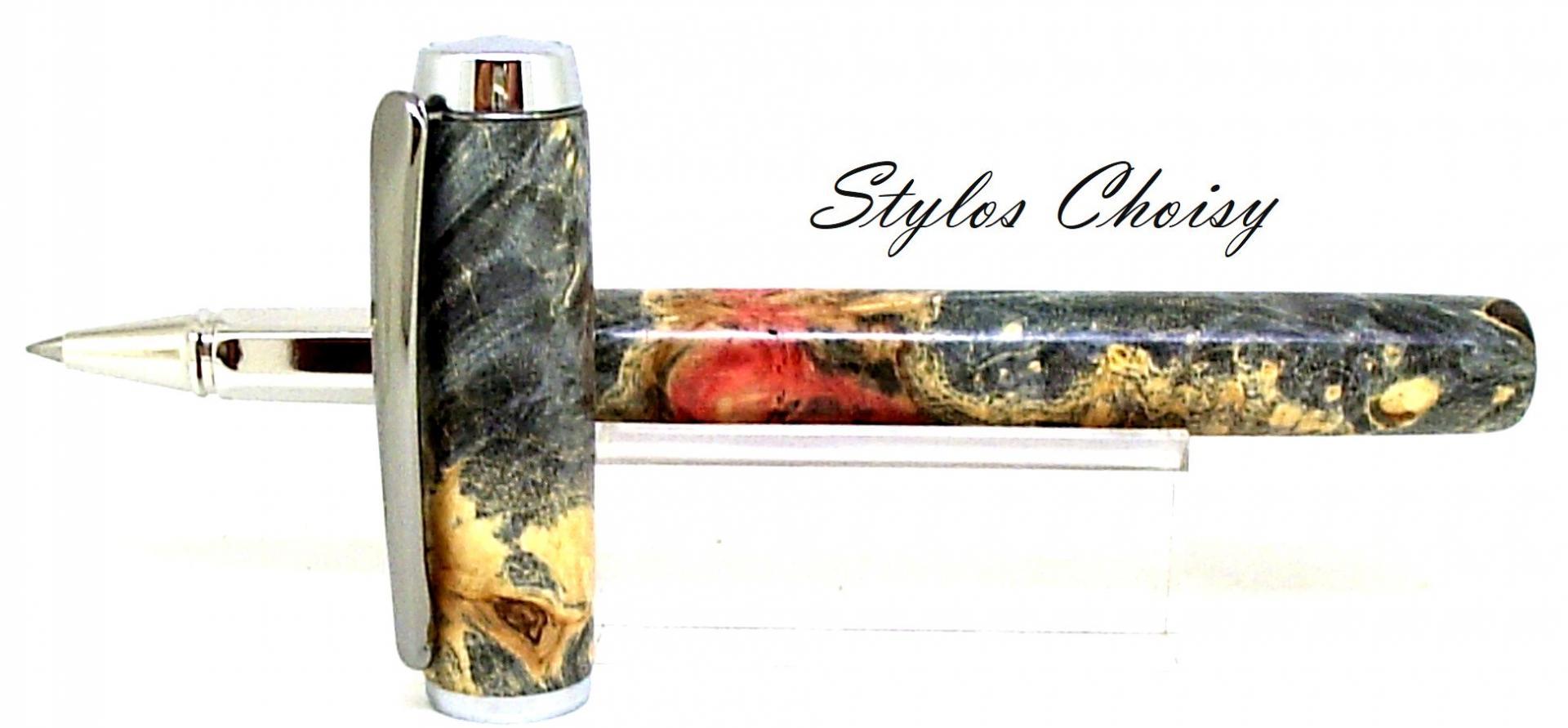 Roller empreinte bouleau gele stabilise multicolore et platine 4