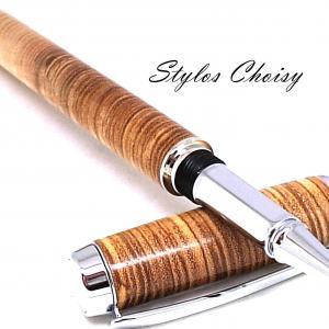 Roller empreinte frene olivier en contre fil et platine 4