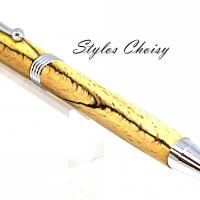 Sagesse hetre echauffe stab jaune et chrome 5