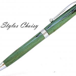 Sagesse hetre echauffe stab vert et chrome 2