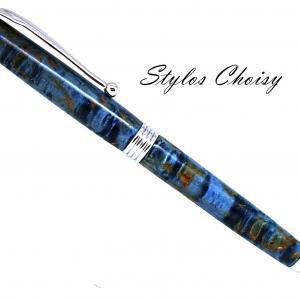 Sagesse loupe de tilleul ecostab bleu et chrome 1