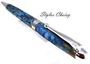 Sagesse loupe de tilleul ecostab bleu et chrome 3
