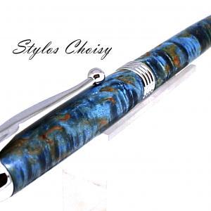 Sagesse loupe de tilleul ecostab bleu et chrome 4