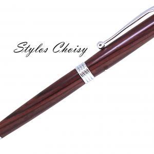 Sagesse palissandre bois de violette et chrome 2