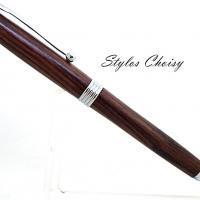 Sagesse palissandre bois de violette et chrome 5
