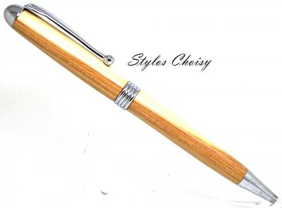 Stylo bille collection Sagesse en lilas de Champagne